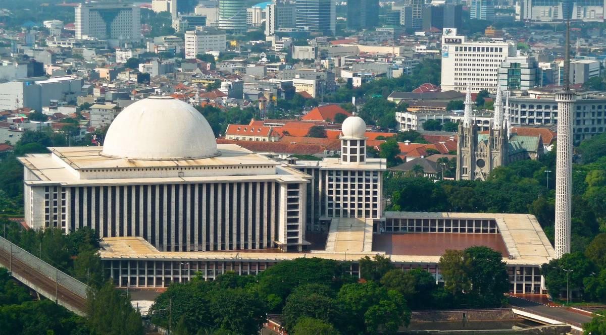 Мечеть Истикляль. Джакарта.