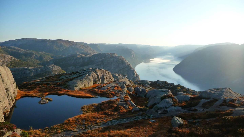Несколько дней на Люсефьорде (Норвегия)
