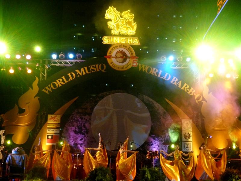 World MusiQ Festival in Bangkok 2010