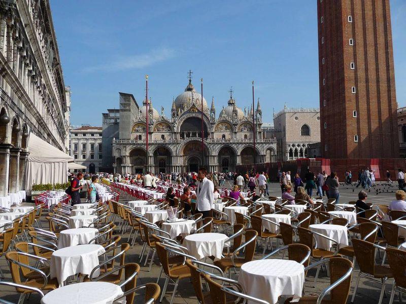 Площадь Сан Марко, Венеция