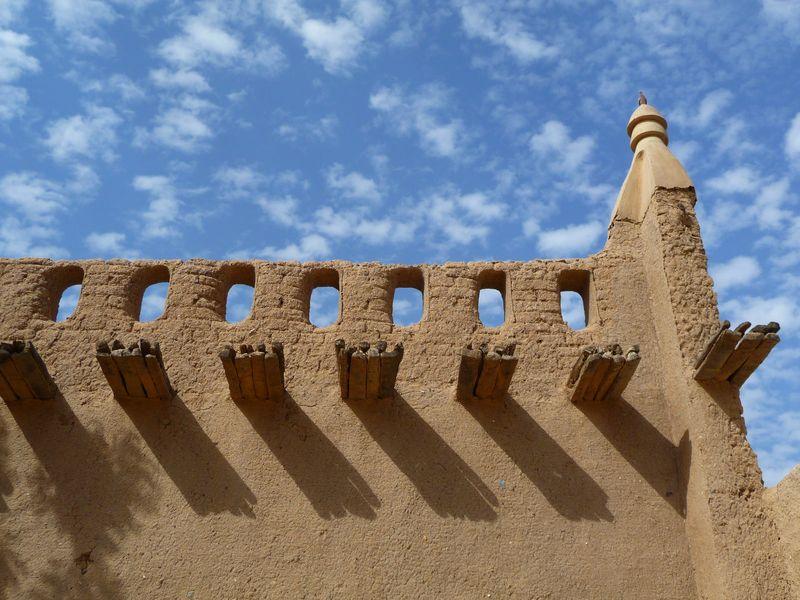 Особенности архитектуры, сахельский стиль