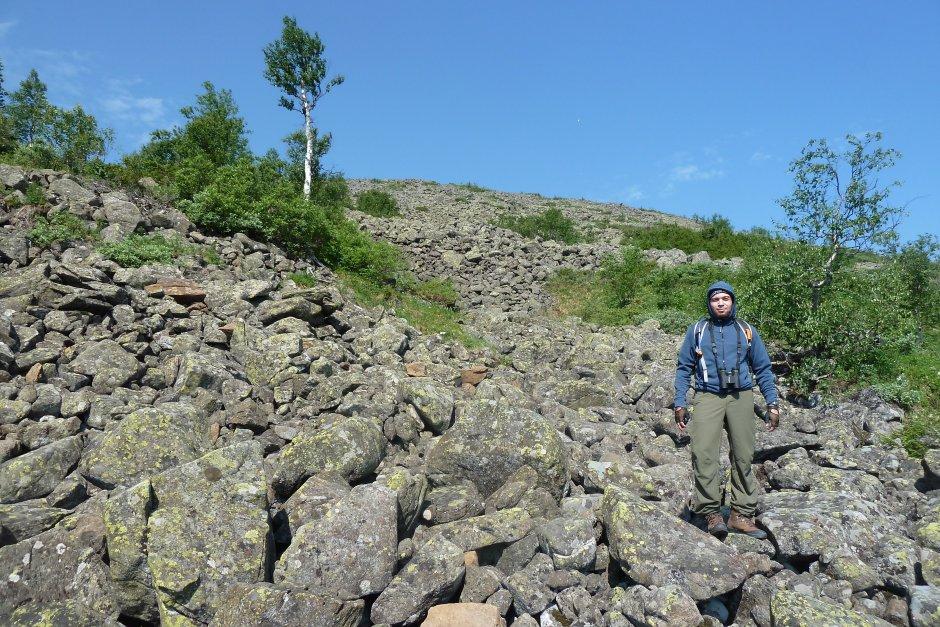 Косьвинский Камень, июль 2013