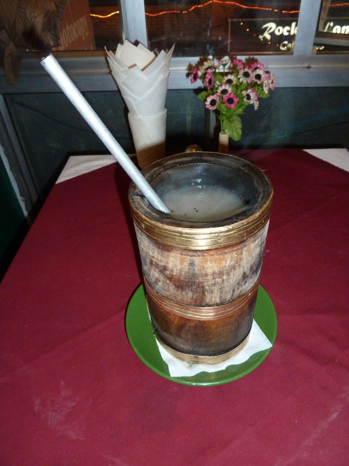 Тонгба - гималайский алкогольный напиток