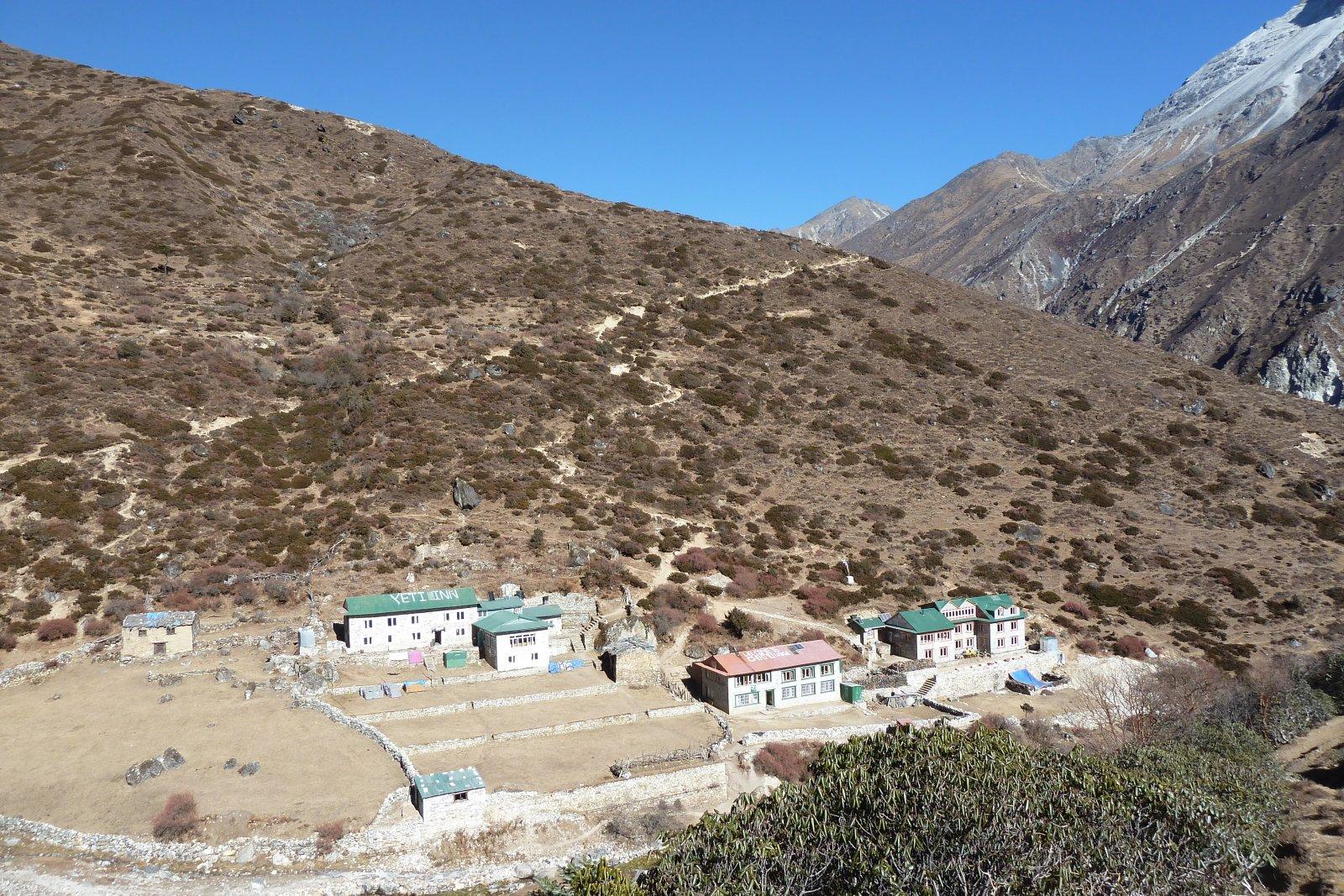 Phortse Tenga - Machhermo