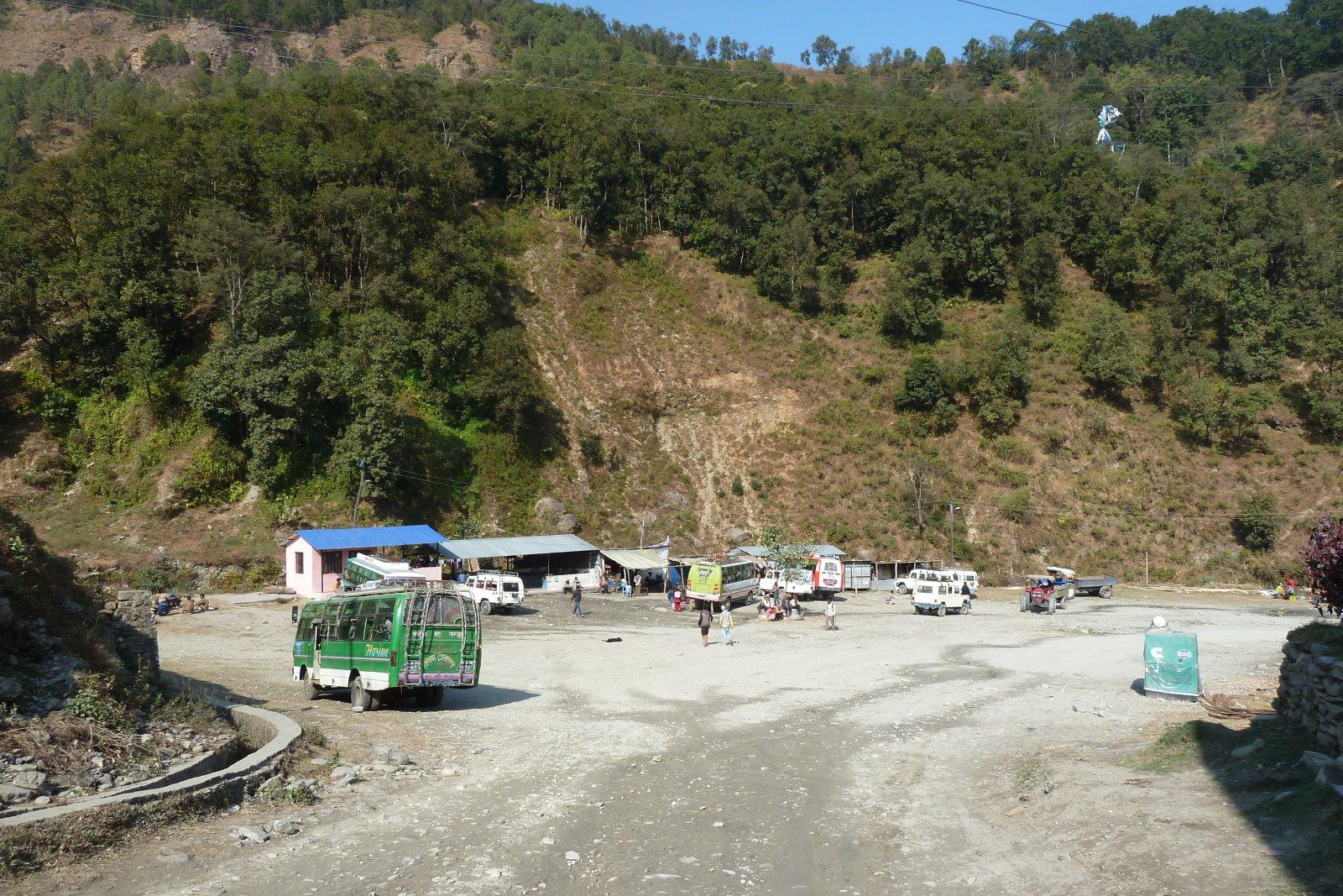 Переезд Покхара - Бульбуле