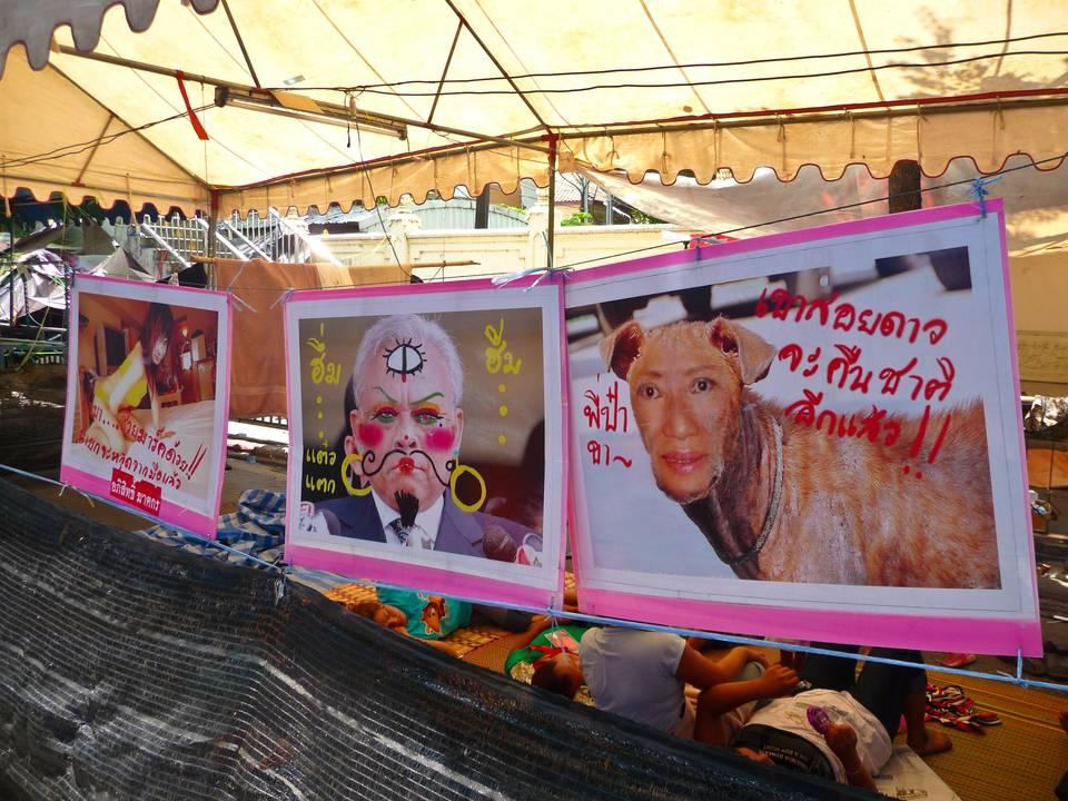 Восстания оппозиции в Бангкоке