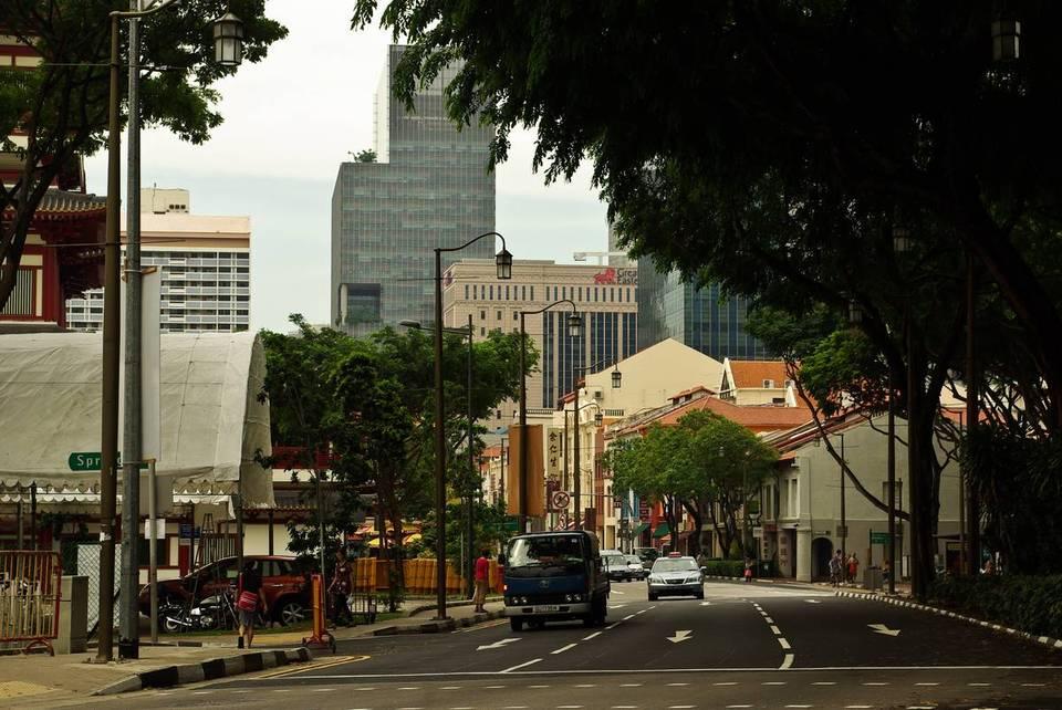Обыкновенная сингапурская улица