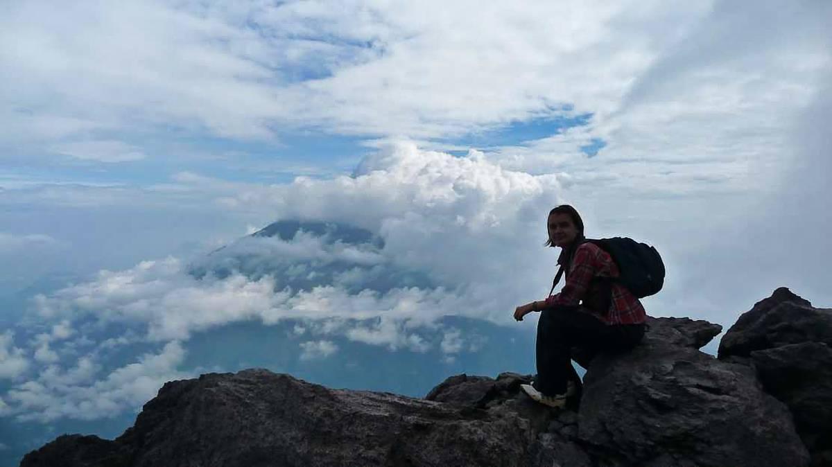 Восхождение на Мерапи, Индонезия